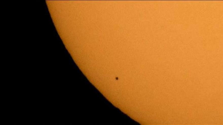 Las espectaculares imágenes del tránsito de Mercurio