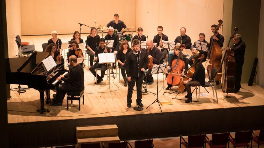 L'orquestra Versatile i la Jove Orquestra de Figueres actuen al Concert Ciutat
