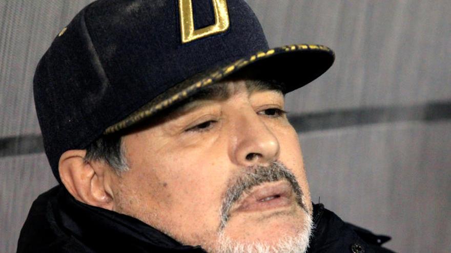 Maradona ataca amb duresa la decisió de traslladar el River-Boca a Madrid