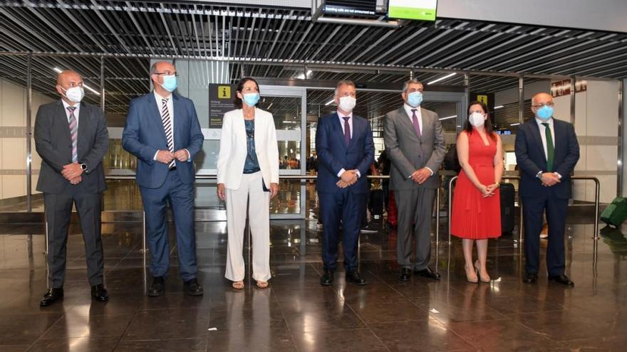 Vuelo promocional y de validación del destino Canarias de la OMT
