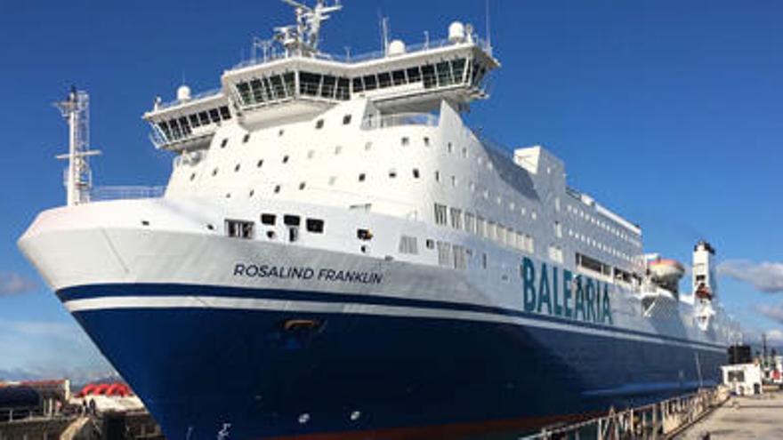Baleària schickt neue Fähre von Palma nach Barcelona