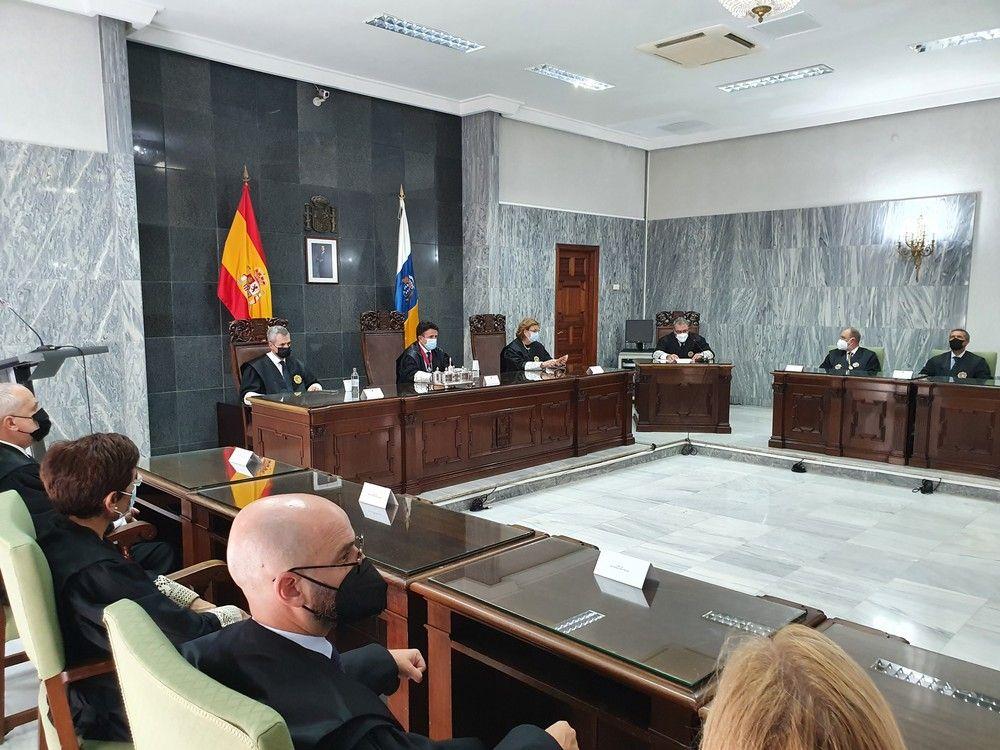 Apertura del año judicial en la capital grancanaria