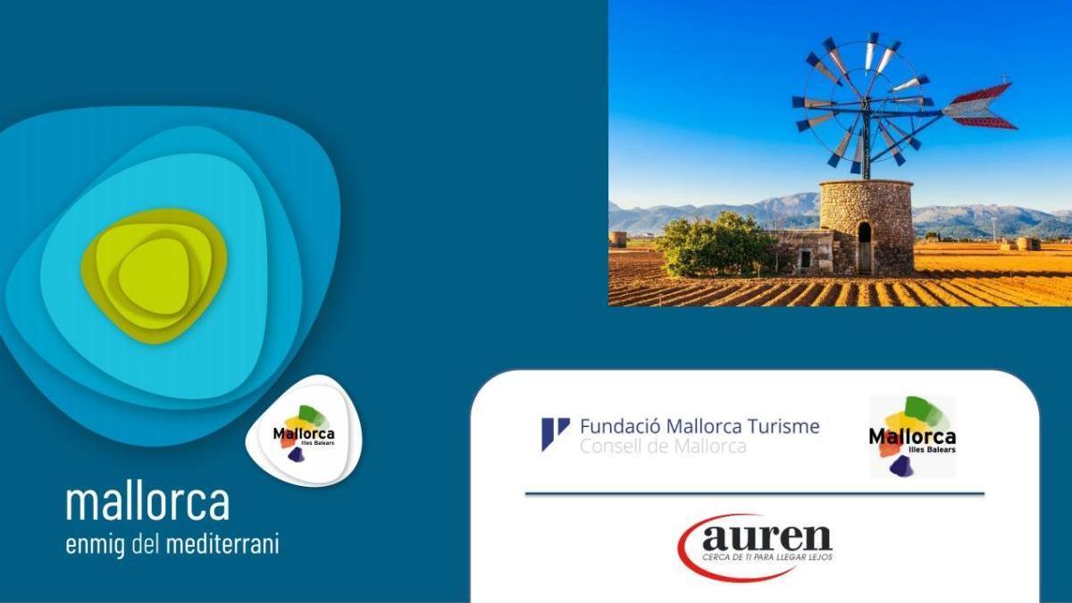 So sieht das neue Logo für die Mallorca-Werbung aus (linke Seite).