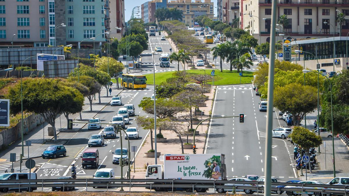La avenida Juan Carlos I es una de las previstas para rehabilitar