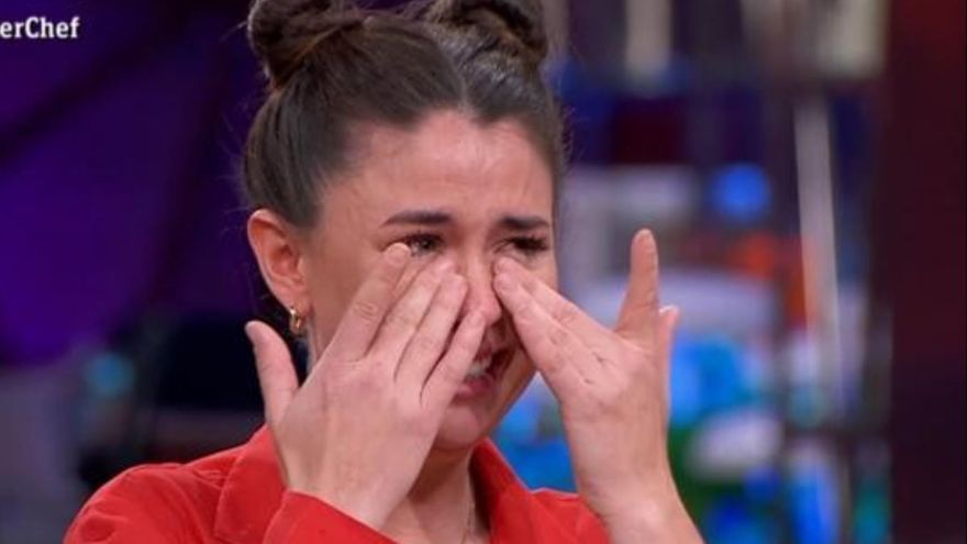 Las crudas lágrimas de la concursante gallega de Masterchef: ¿Maltratada en el concurso?