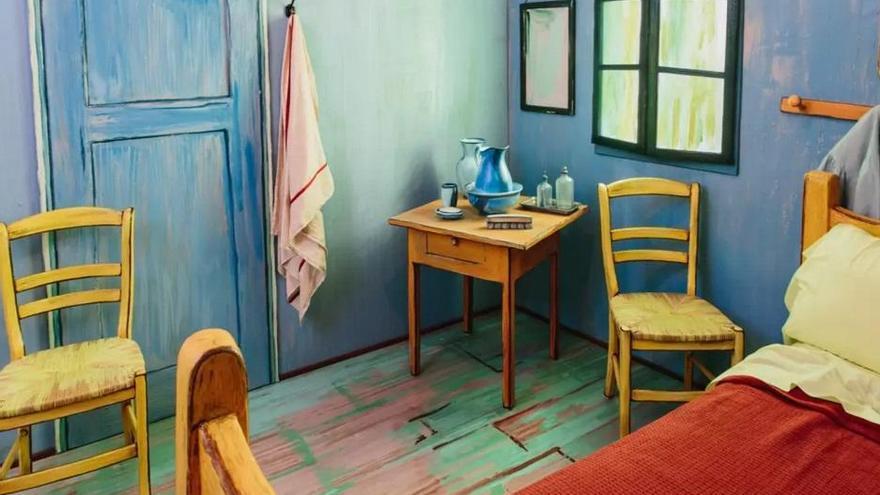 Dormir en un cuadro de Van Gogh