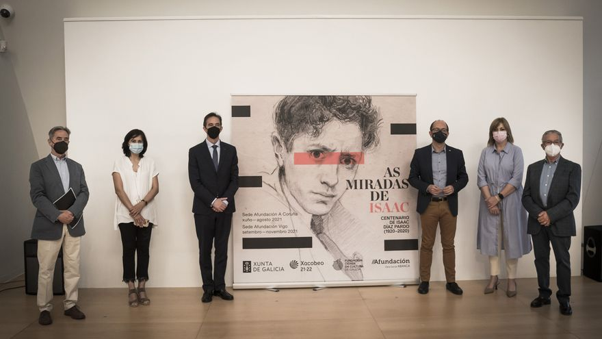 La exposición 'As miradas de Isaac' llega a la sede de Afundación el próximo 29 de junio