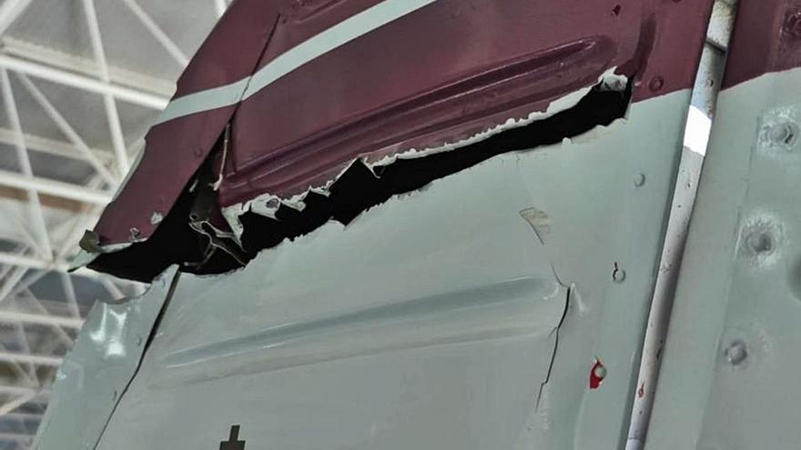 La aeronave voló 30 metros por debajo de la altura autorizada