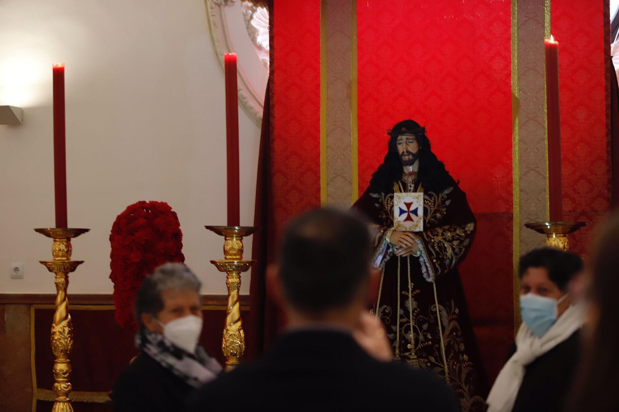 Devoción por el Cristo de Medinaceli pese a la pandemia de Covid-19