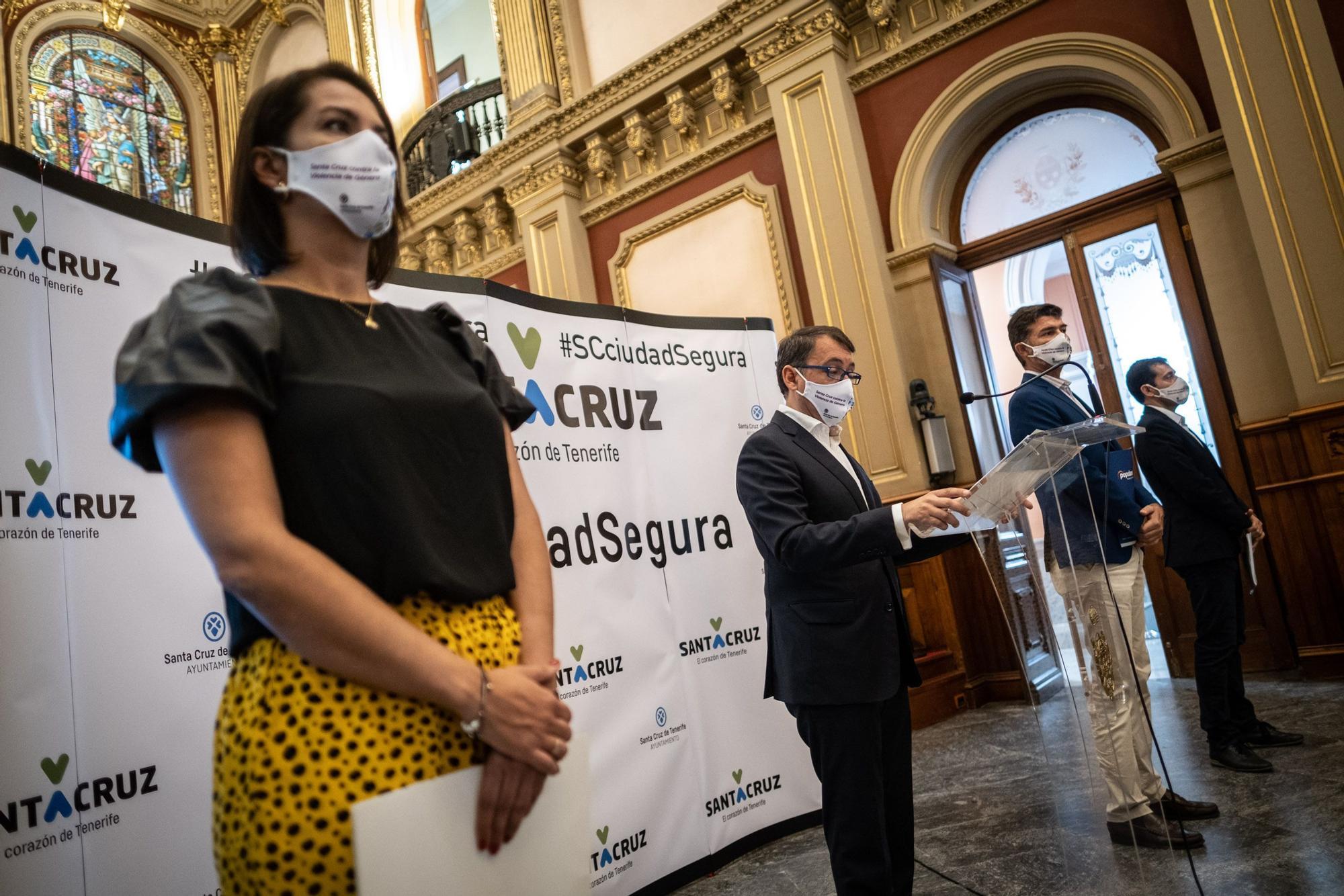 Presentación del presupuesto de Santa Cruz