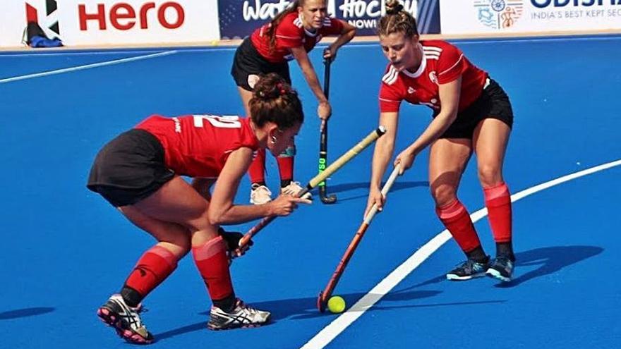 Doble derrota del Mallorca Hockey  Club senior femenino en Valencia