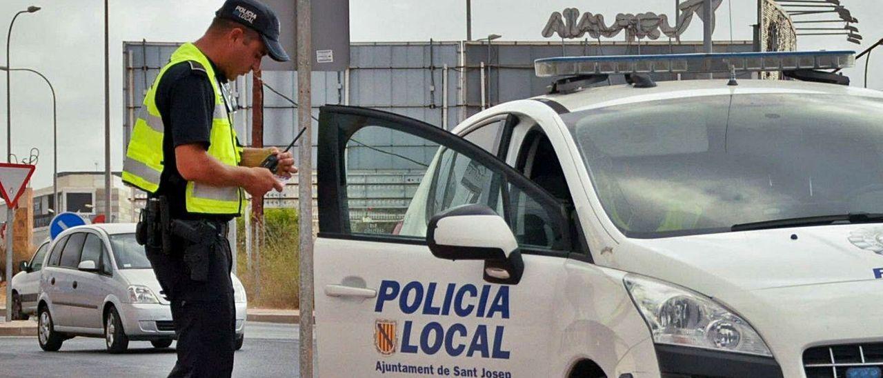 Imagen de archivo de la Policía Local de Ibiza