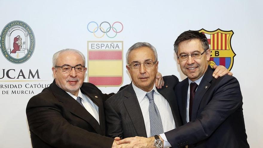 UCAM, COE y FC Barcelona, unidos para la docencia de alto nivel en deporte