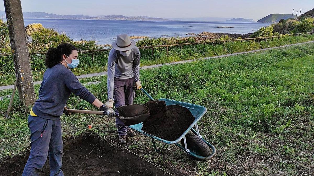 Trabajos arqueológicos a los que hace referencia la publicación Onstopus.   | // UVIGO