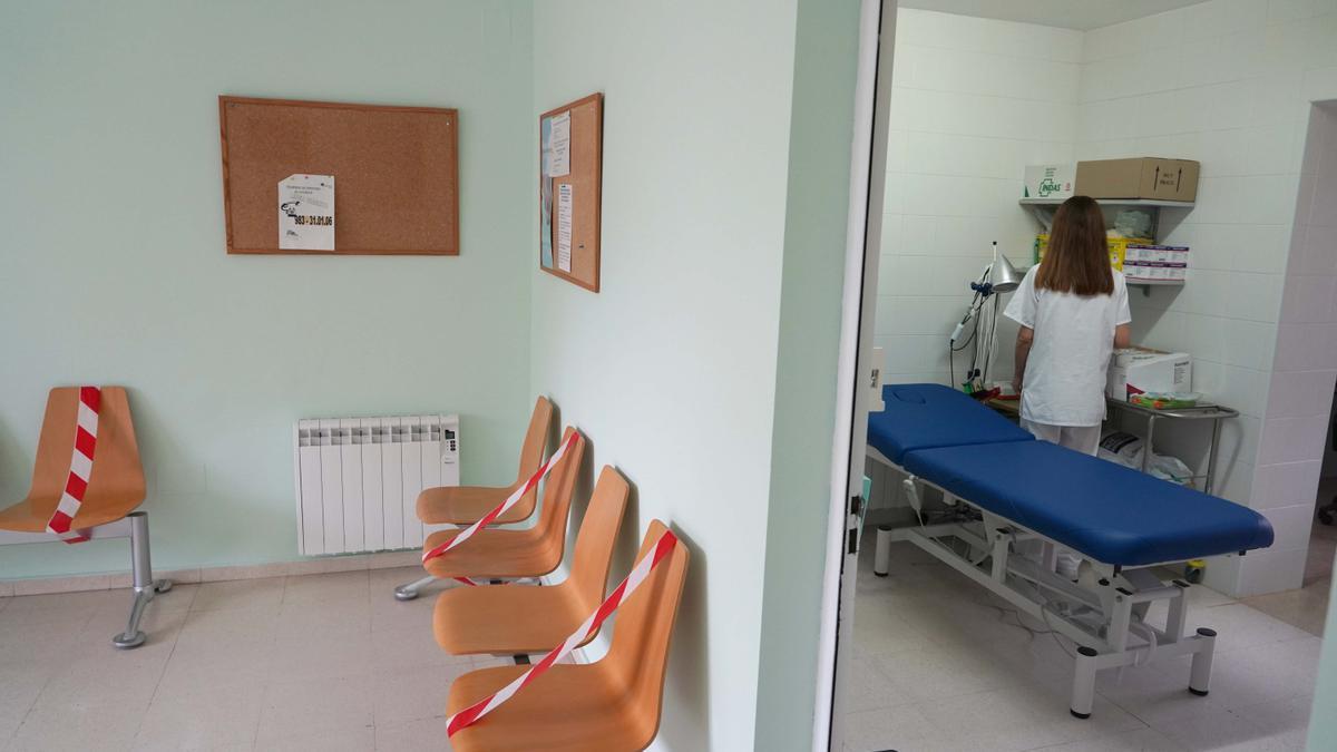 Centro de salud de Bobadilla del Campo (Valladolid).