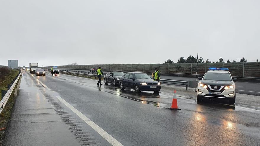Galicia se cierra por Navidad: el control de la movilidad empieza en la frontera