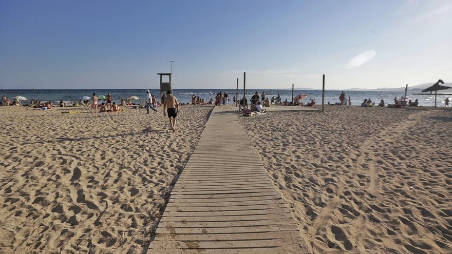 70-Jährige ertrinkt an einem Stadtstrand von Palma de Mallorca