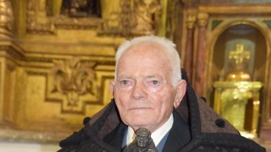 Fallece Jesús Vara Garrido, que recibió la Capa Parda de Honor 2019