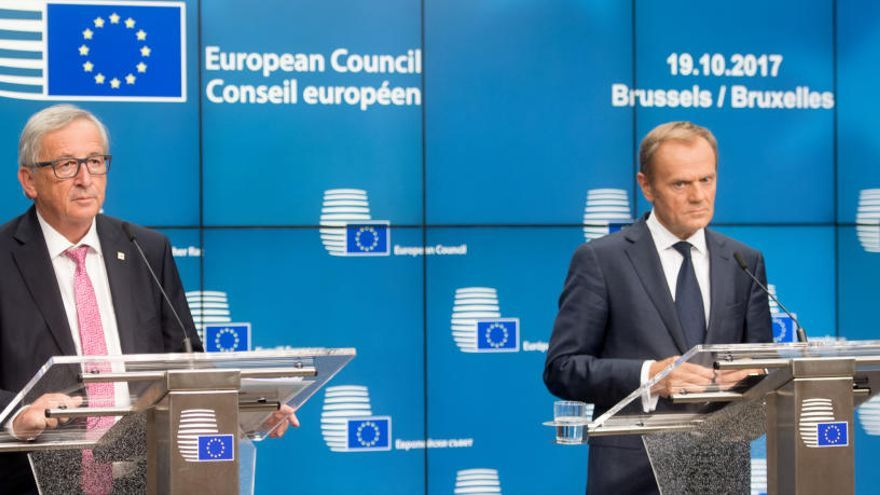 Tusk sobre Catalunya: «no hi ha marge per a cap mediació o iniciativa internacional»