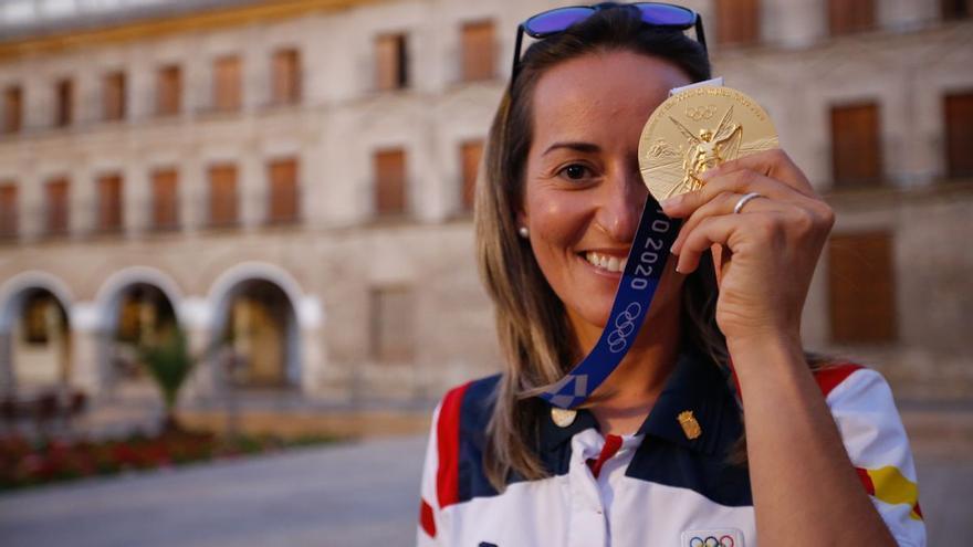 """Fátima Gálvez: """"Alberto y yo no podremos perder el récord olímpico"""""""