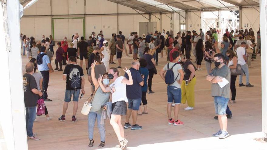 El aparcamiento del Recinto Ferial de Ibiza permanecerá cerrado por la feria de la construcción