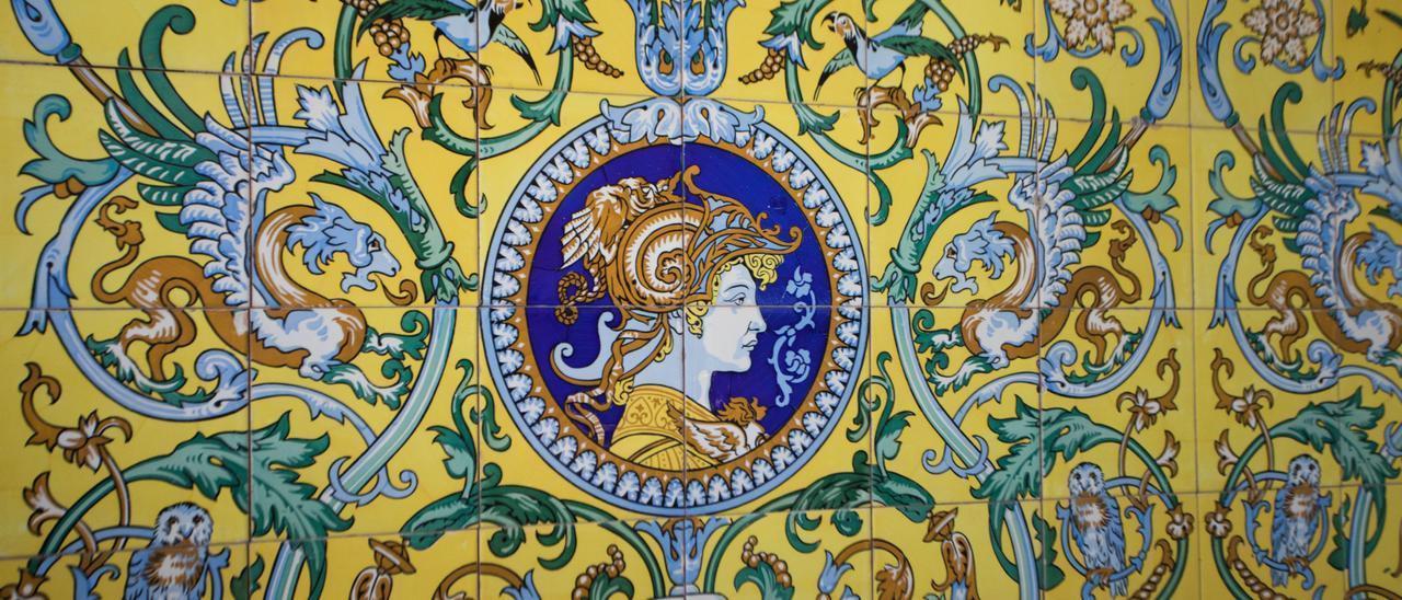 La rehabilitación de Villa Eloína, el chalet monumental del Vedat, en imágenes