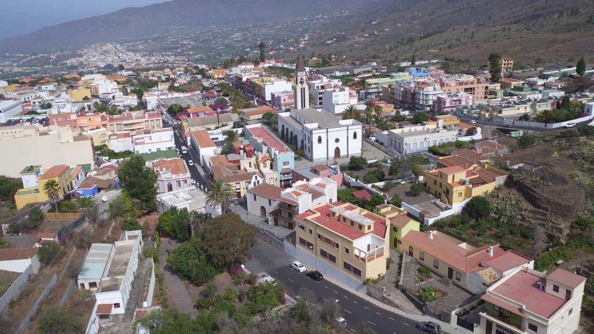 Vista del municipio palmero de El Paso
