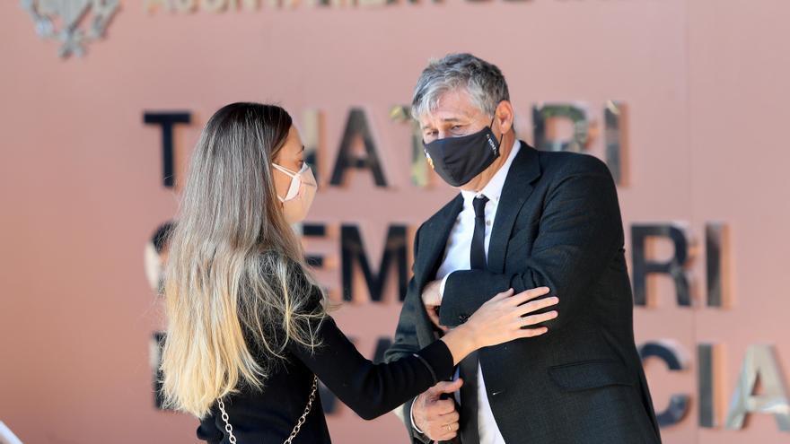 Funeral de Juan Cruz Sol, mítico del Valencia CF