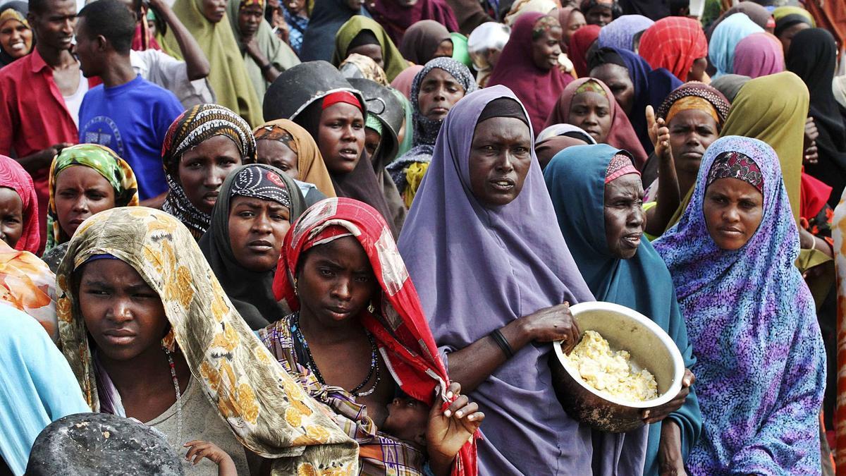 África es el continente más afectado por el hambre, con continuas hambrunas provocadas por conflictos bélicos, la pobreza extrema o el cambio climático. | REUTERS/OMAR FARUK