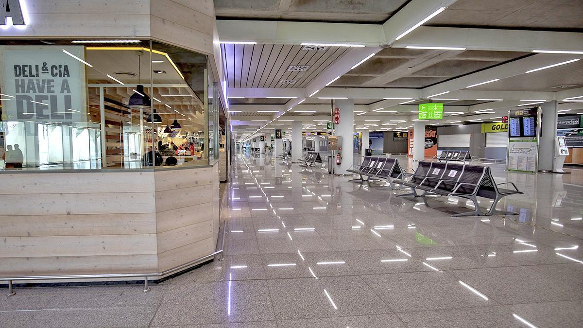 El sector turístico ha sido uno de los más afectados por la pandemia con una fuerte caída de la actividad que se ha visto reflejada en unos aeropuertos vacíos sin visitantes.
