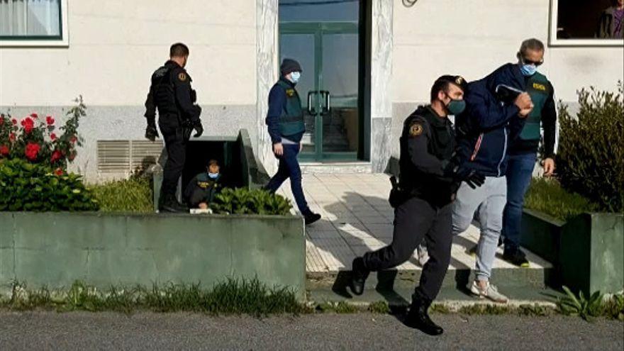 Varios detenidos en un operación contra el narcotráfico en múltiples puntos de Galicia