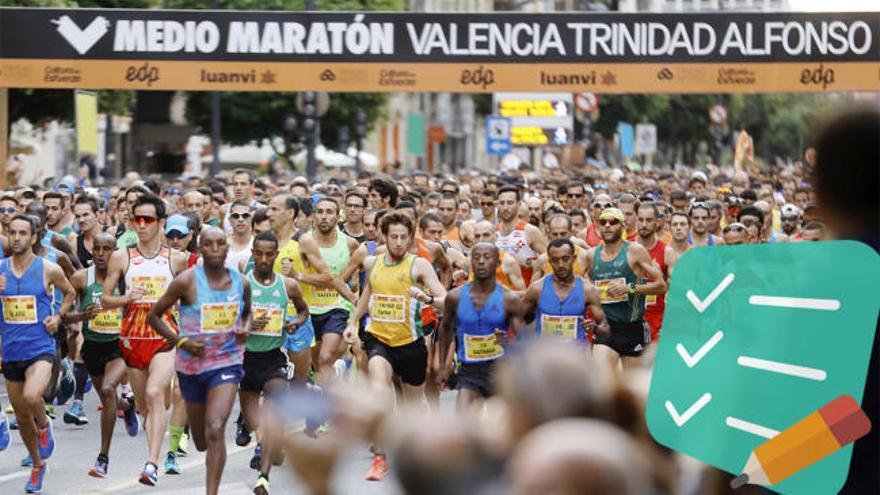 Medio Maratón Valencia 2018: Guía útil