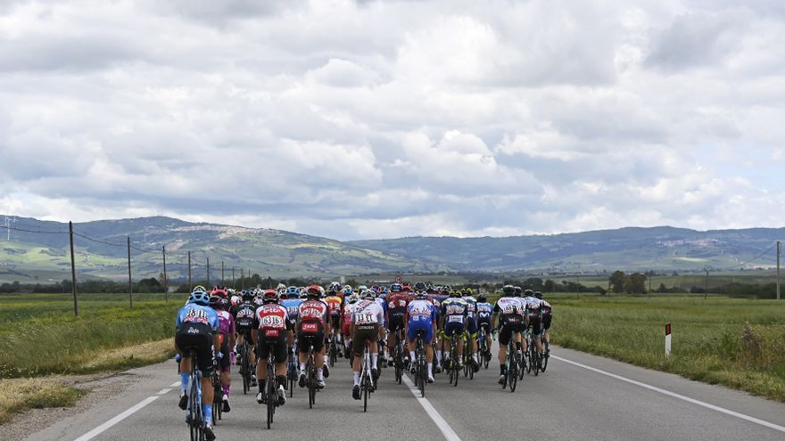 Sigue en directo la etapa de hoy del Giro de Italia: Castel di Sangro - Campo Felice