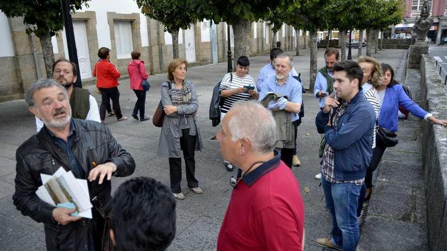 Un paseo por el Betanzos que inspiró a Llorens