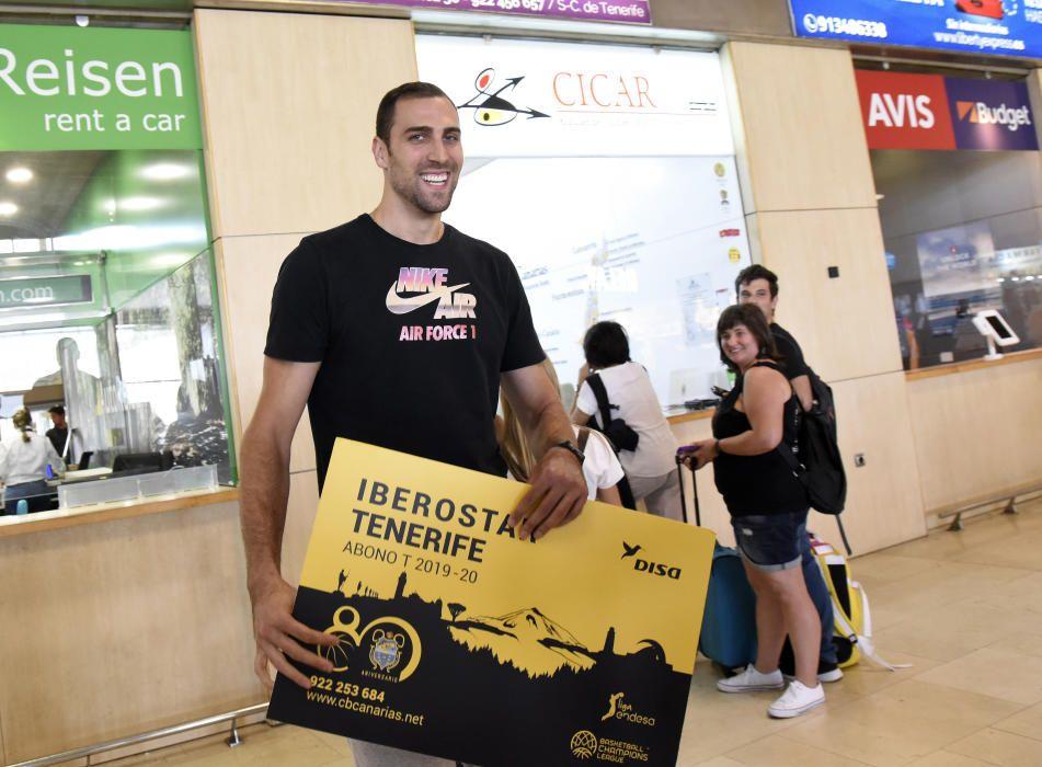 Llega a Tenerife Pablo Aguilar, del Iberostar