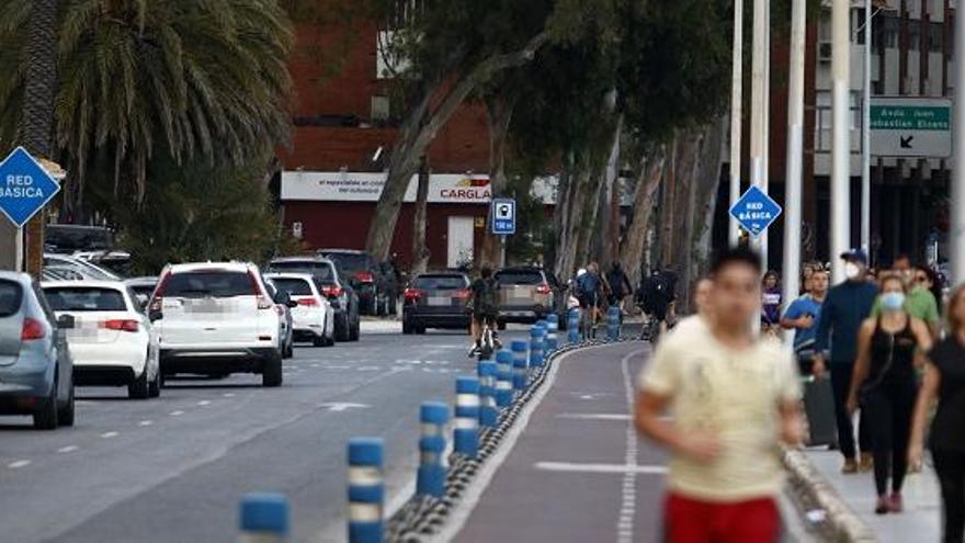 El Paseo Ruiz Picasso estará cortado al tráfico por la noche hasta el viernes