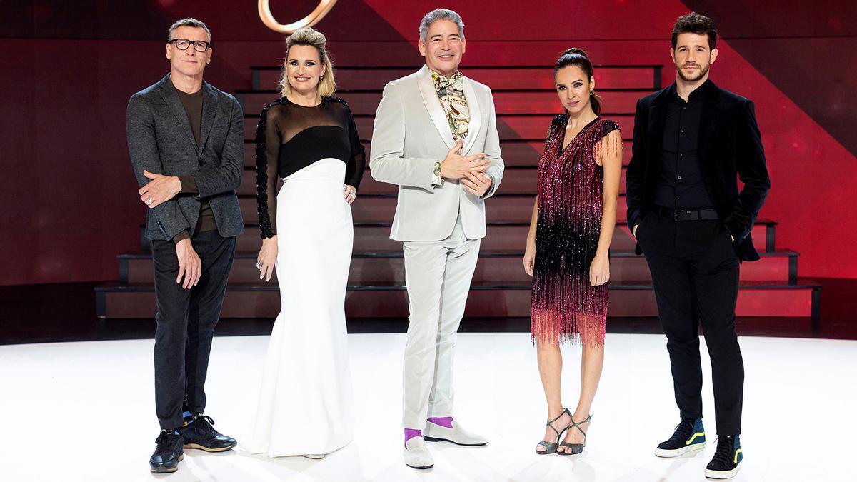 Los presentadores de 'Prodigios'.