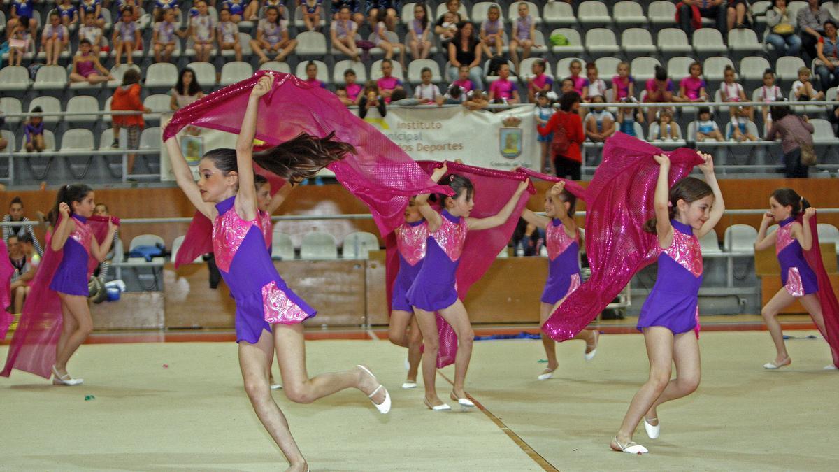 XVI Edición de la Fiesta de la Rítmica, dentro de las actividades de las Escuelas Deportivas Municipales de Vigo