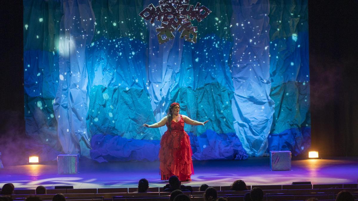 Blancanieves, una de las primeras actuaciones del año en el Ramos Carrión de Zamora.