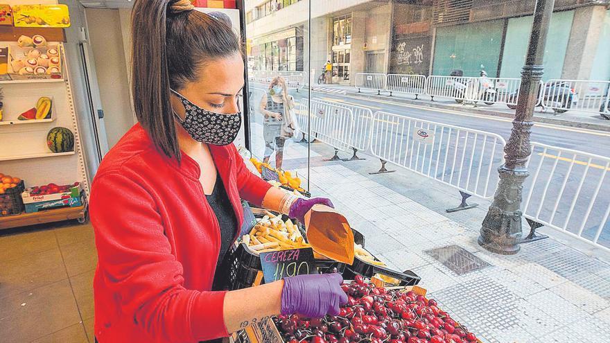 La cereza de Aragón sufre los efectos del hielo y las lluvias