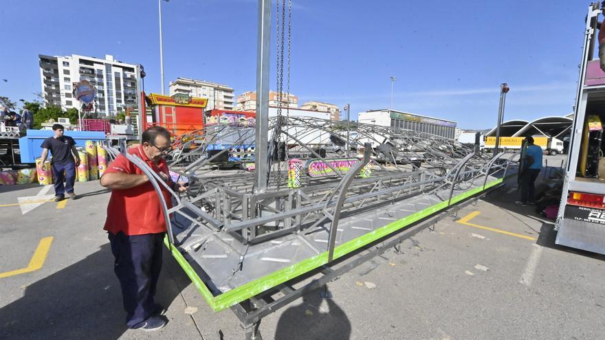 Todos los detalles de la feria de atracciones de 'Tots Sants' en Castelló