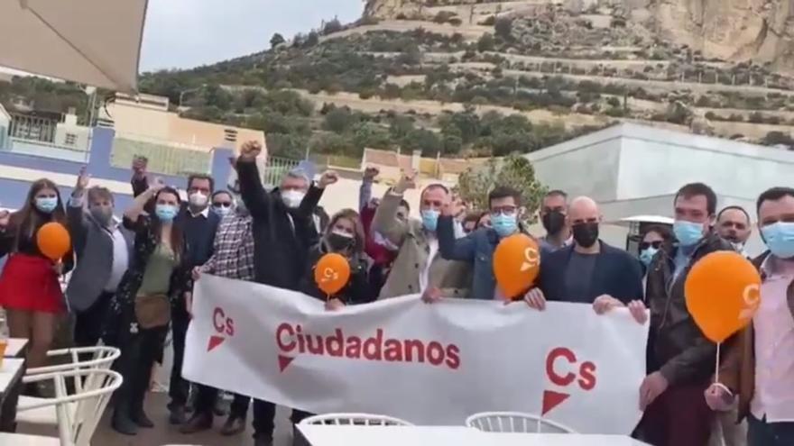 Cs llama a Alicante «la playa de Madrid» para apoyar a Edmundo Bal