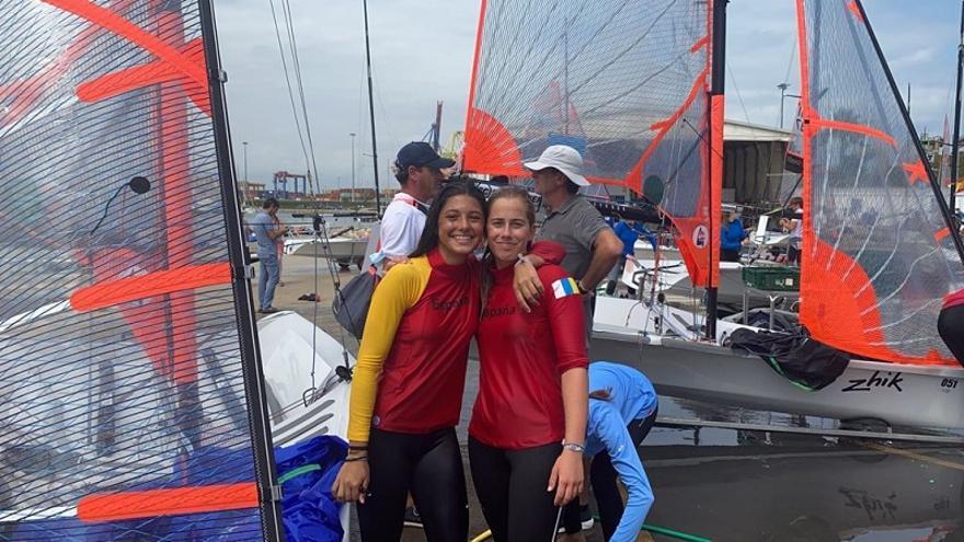 Martina Lodos y Martina Díaz, campeonas del mundo U17 femenino, clase 29er