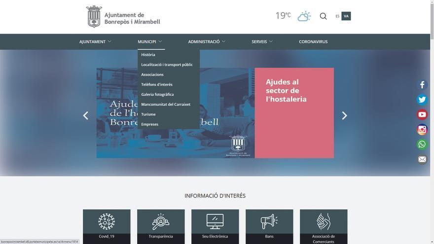 Bonrepòs i Mirambell estrena nueva web