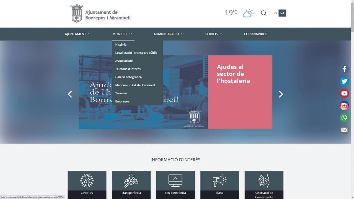 Nueva web de Bonrepòs