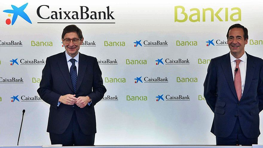 Bankia y CaixaBank sellarán la fusión el 1 y 3 de diciembre