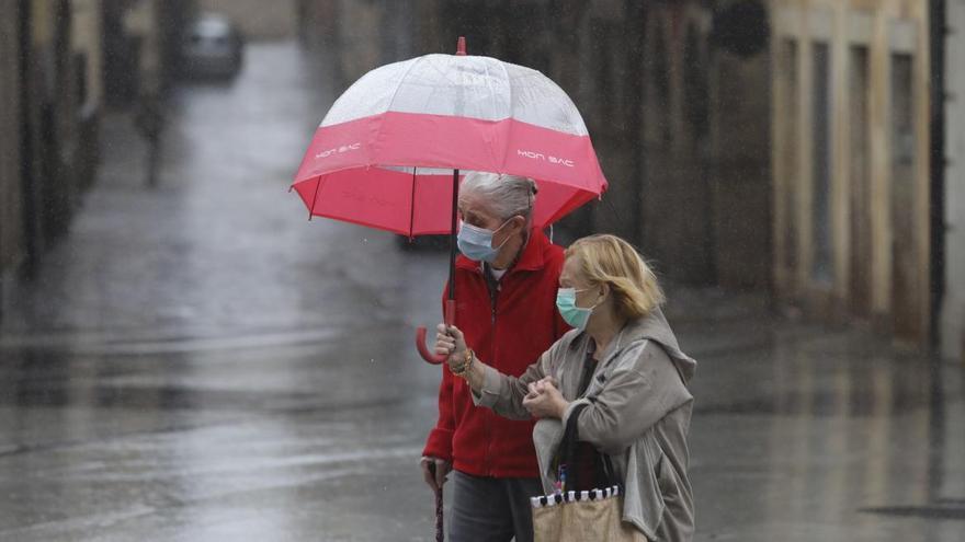 El tiempo en Asturias para el sábado: nubes, chubascos y alguna tormenta