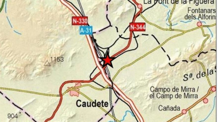 Cañada registra un pequeño terremoto
