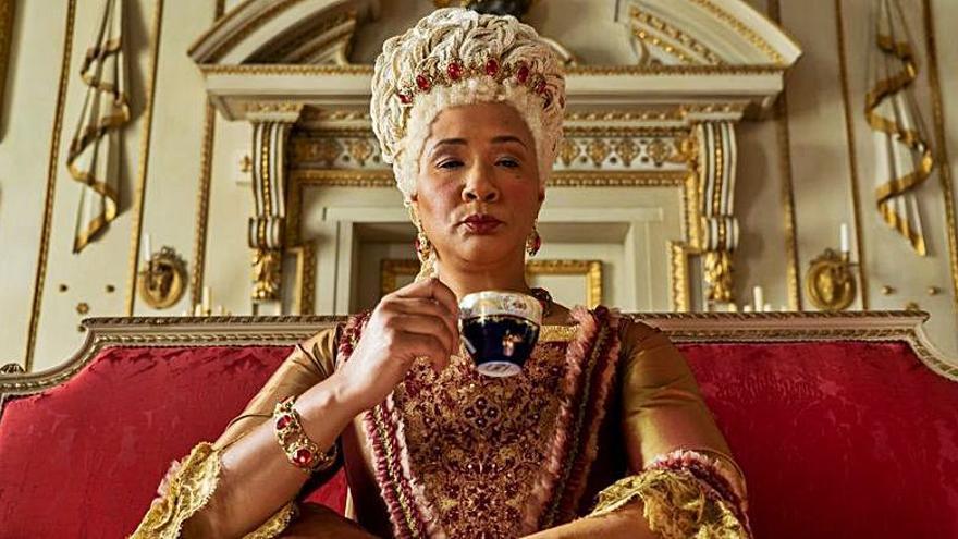 Netflix prepara una serie sobre la reina Charlotte de 'Los Bridgerton'