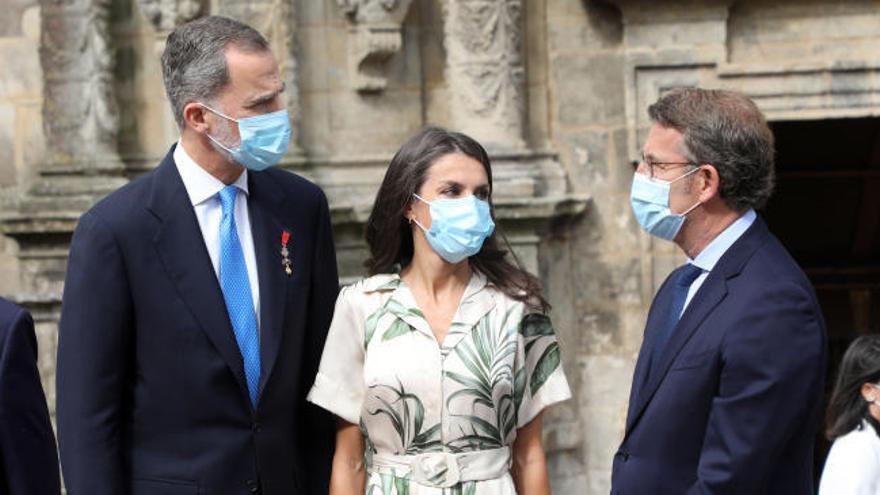 """El Rey receta """"unidad"""" y """"solidaridad entre territorios"""" para superar la crisis sanitaria"""
